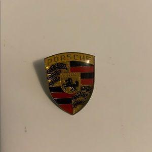 Porsche pin